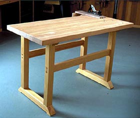 Simple-to-Build Workbench Woodworking Plan - Product Code DP-00134
