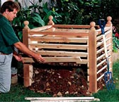 Compost Crib Woodworking Plan