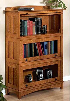 barrister bookcases plans