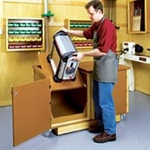 Flip-Top Work Center Woodworking Plan