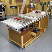 Mobile Sawing & Routing Center Woodworking Plan