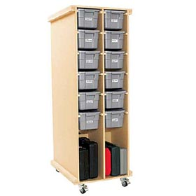 Rolling Workshop Storage Woodworking Plan - Product Code DP-00488