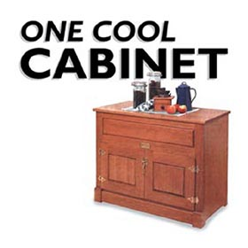 Ice Chest Woodworking Plan - Product Code DP-00019