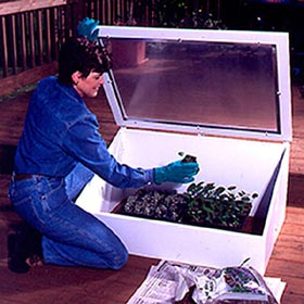Cold Frame Woodworking Plan - Product Code DP-00166
