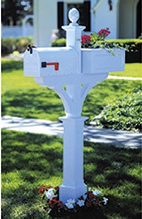 Mailbox Planter Woodworking Plan - Product Code DP-00195