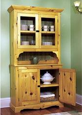 Heirloom Pine Hutch Woodworking Plan
