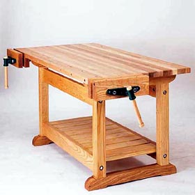 Product Code DP-00482 - Traditional Workbench Woodworking Plan