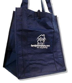 Family Home Plans Eco Bag - Product Code ECOBAG