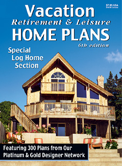 Vacation retirement and leisure plans at for Vacation home designs
