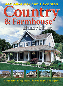 Country farmhouse home plans at for Home plan books