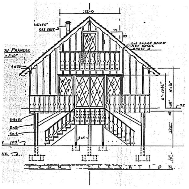 Contemporary Retro House Plan 10054 Rear Elevation