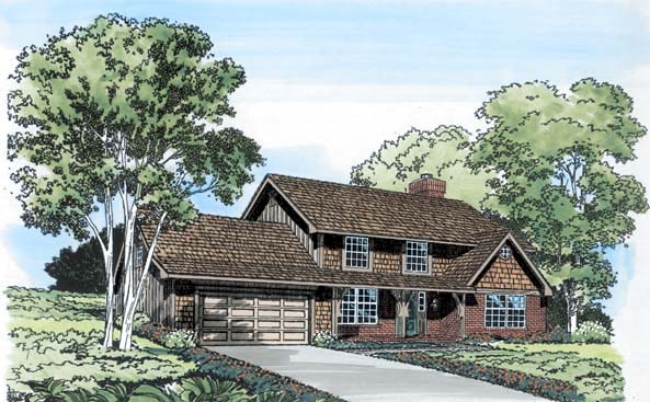 Traditional House Plan 10525 Elevation