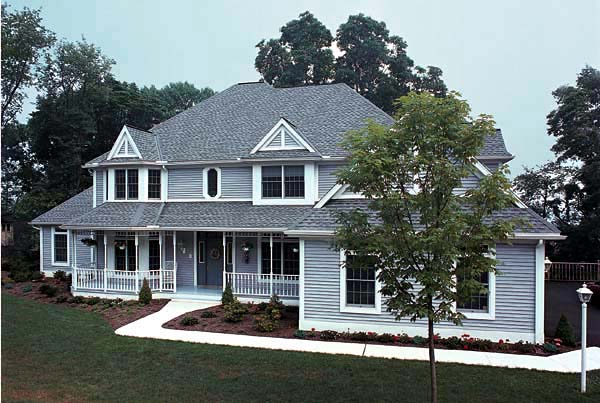 Country Farmhouse House Plan 10780 Elevation
