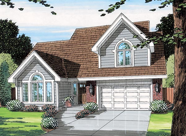 Traditional House Plan 20134 Elevation