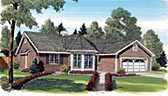 Plan Number 20139 - 1488 Square Feet