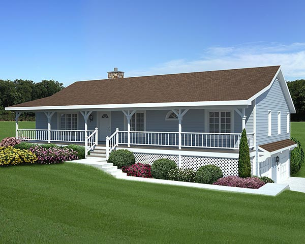 Raised Ranch House Plans With Garage Under on split-level house plans garage under, ranch house plans drive under garage, ranch house plans with front entry garage, ranch home front porch gable plans, ranch house plans with side entry garage, ranch house plans with detached garage,
