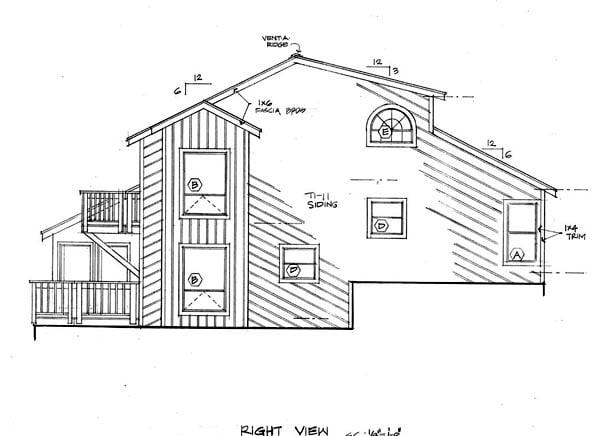 Coastal Contemporary House Plan 20501