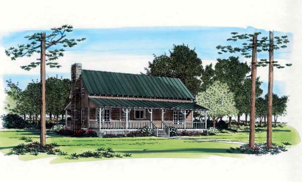 Country Southern House Plan 21124 Elevation