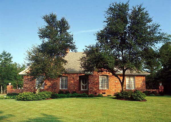 European, One-Story, Ranch, Traditional House Plan 22004 with 4 Beds, 3 Baths, 2 Car Garage Picture 1