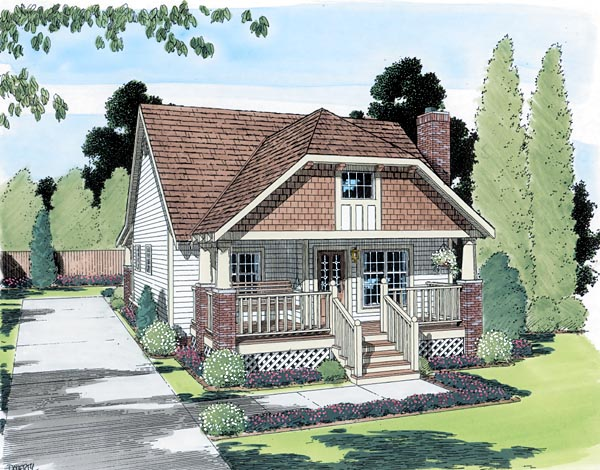 OneStory House Plan 24240