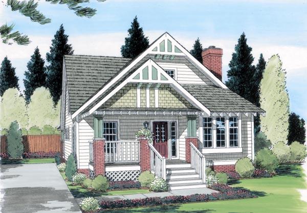 Craftsman House Plan 24242