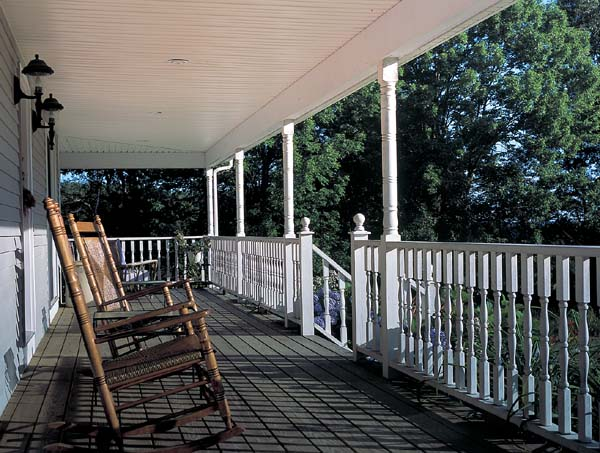 Country Farmhouse Southern House Plan 24245