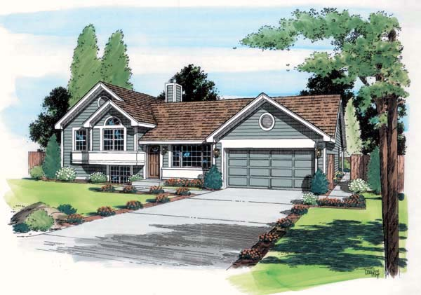 Traditional House Plan 24305