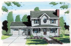 Southern Country House Plans - Living House Plans