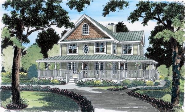 Duplex House Plan 24724
