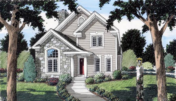 Bungalow Country Traditional House Plan 24731 Elevation