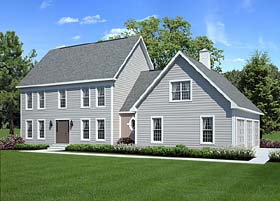 Colonial Style Home Plans Family Home Plans Blog