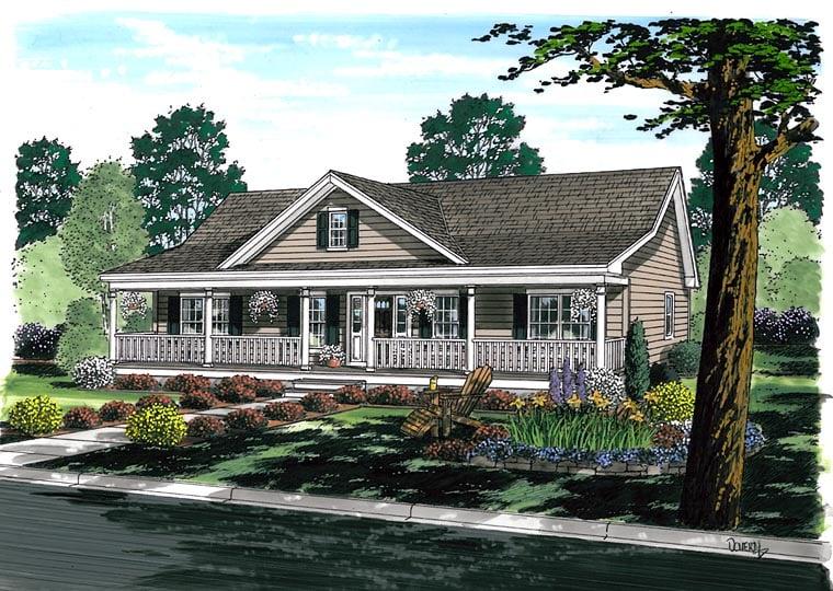 House Plan 25101