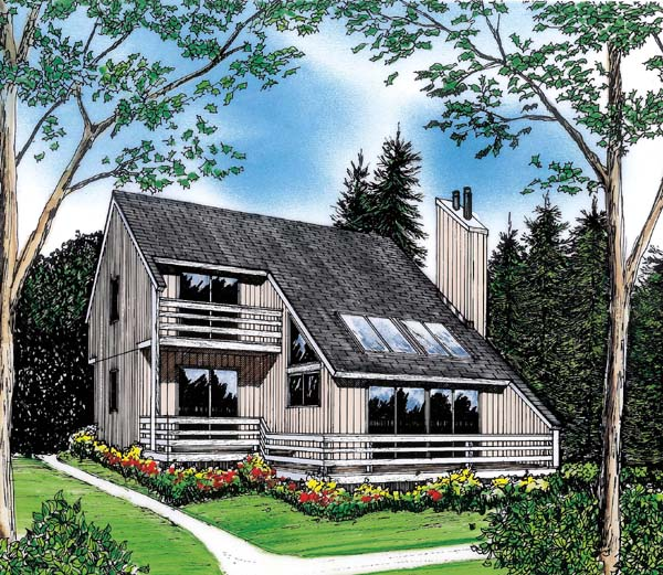Contemporary House Plan 26112 Elevation