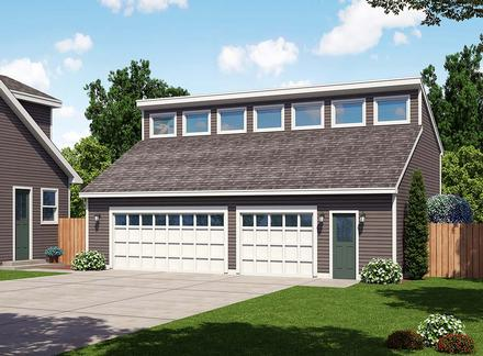 Garage Plan 30012