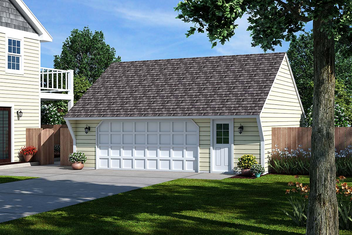 Garage Plan 30020 At: saltbox garage plans