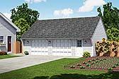 Garage Plan 30021
