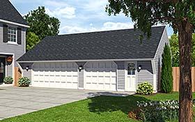 Garage Plan 30022