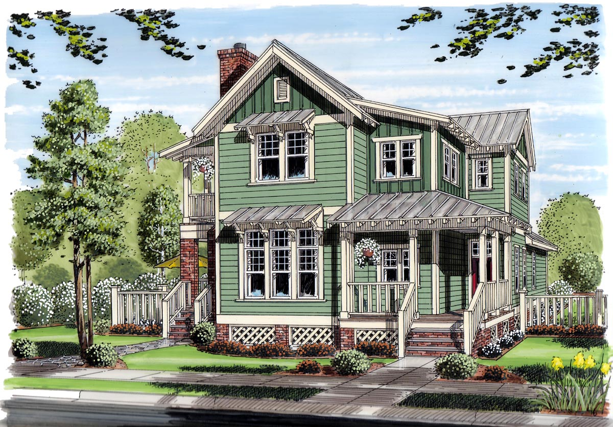 click here to see an even larger picture - 5500 Square Foot House Plans