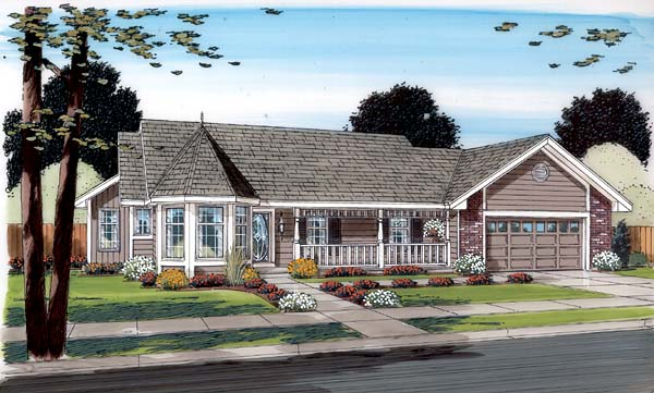 Traditional House Plan 34043