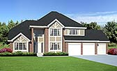 Plan Number 34047 - 2674 Square Feet