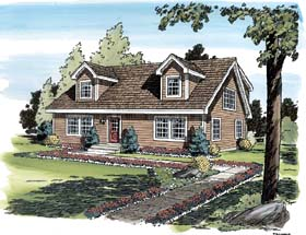 Simple House Designs on Cod House Plans And New England Style Home Designs   Home Plans Blog