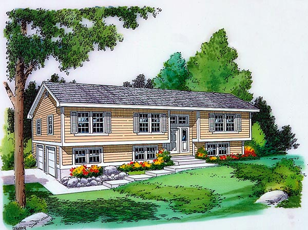 Country House Plan 34679 With 3 Bed 3 Bath 1994 Sq Ft