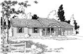Plan Number 35006 - 1096 Square Feet