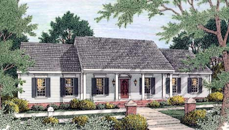 House Plan 40022 At Familyhomeplans Com
