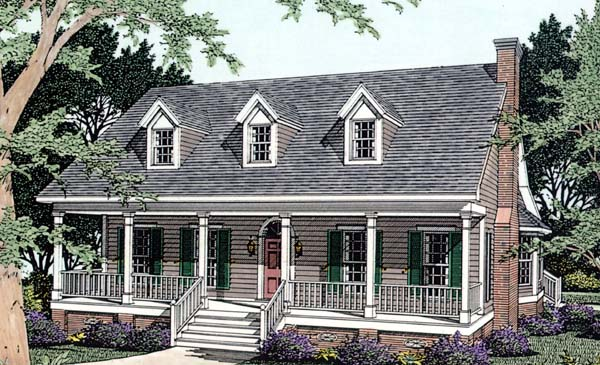 House Plan 40032 at FamilyHomePlanscom