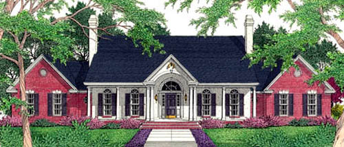 Traditional House Plan 40035