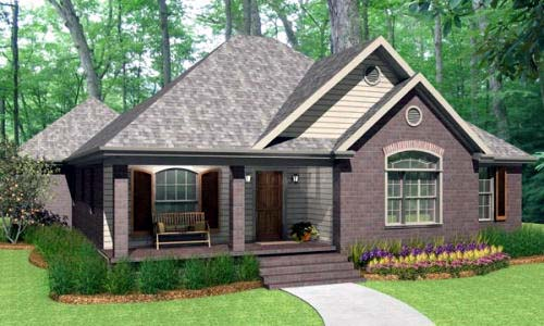 Traditional House Plan 40036 Elevation