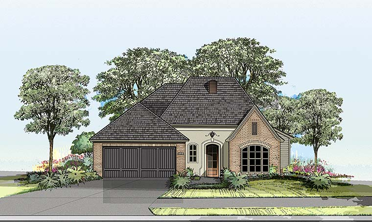 Country European French Country House Plan 40301 Elevation
