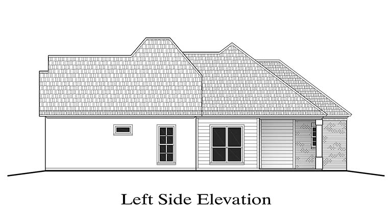 European, Southern, Traditional House Plan 40305 with 3 Beds, 2 Baths, 2 Car Garage Picture 1