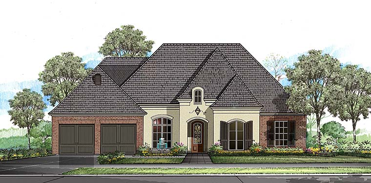 European French Country Southern House Plan 40312 Elevation